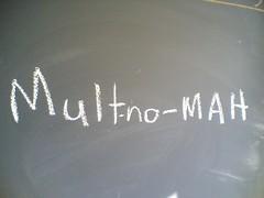 Multnomah - our Portland battle cry