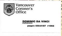 coronerscard
