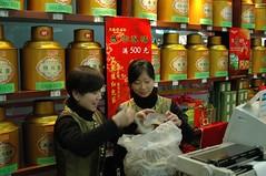 Comprando té
