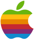 Striped Apple logo