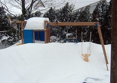 Snowy Swingset Early '05