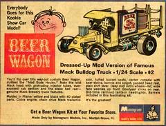 monogram beer wagon