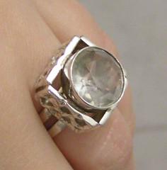 Silverring från 70-talet.