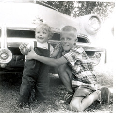 Barbara Foreman and Ron Foreman, Summer 1953