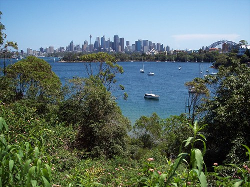View of Sydney from Taronga (Clifton Gardens)