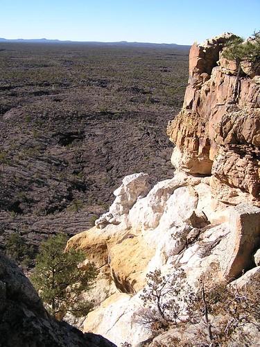 Hiking The Narrows Rim Trail in El Malpais near Grants, New Mexico