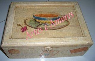 Caixa de Chá Mádia