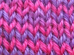 Lorna's laces, a delight to knit