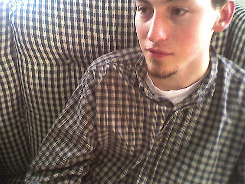 Zach's Couch Camouflage.