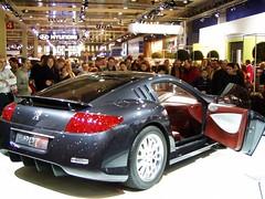 European Autoshow Brussels - Peugeot 907 Back