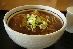 Miso Udon(味噌うどん)¥550