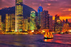 Intense colours of Hong Kong