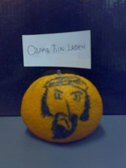 Orange Osama Bin Laden