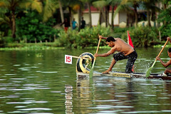 Racing  at Water Level ! photo by Anoop Negi