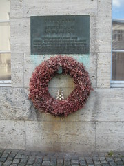 Wall where Stauffenberg was shot