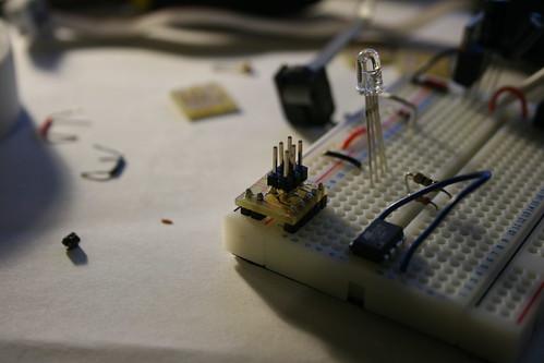 Breadboard ICSP adaptor
