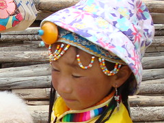 a little girl in Yunnan ~ Explore! photo by linkway88