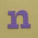 card letter n