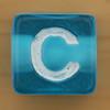 Bead Letter C