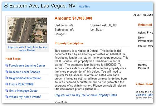 Yahoo Home Listing