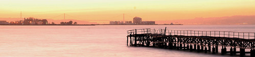 Sunset at the pier.... (by You)