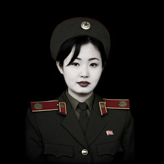 Miss Kim in Pyongyang,  North Korea DPRK 북한 photo by Eric Lafforgue