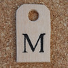 Wooden Tag M