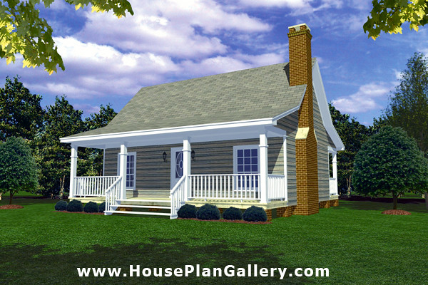 Cottage Style House Floor Plans with Cottage Home Plan Design