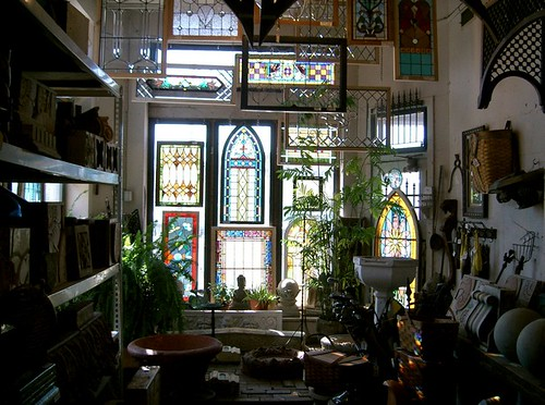 Architectural Salvage Stained Glass
