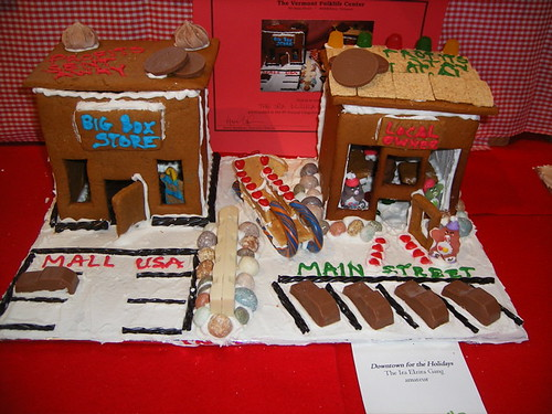Gingerbread Houses at Vermont Folklife Center