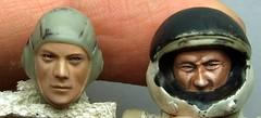 Comparison of figure head paiting