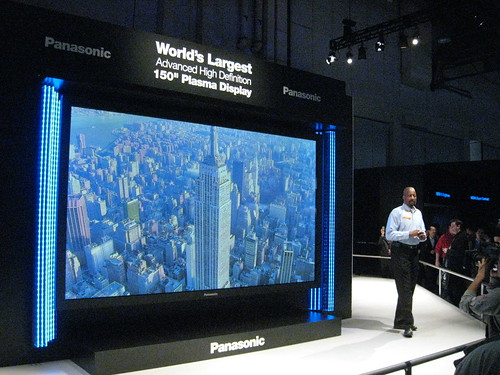 "World's largest TV (150"")"