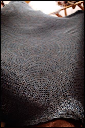 Pi Shawl Blanket (by b r o o k l y n t w e e d)