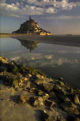 Mont Saint Michel photo by Millron