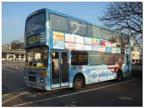 Plymouth Citybus 189 F606GVO