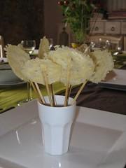 Sucettes parmesan