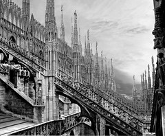 Milan's Cathedral Duomo, Italy photo by Niall McEntegart
