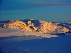 Arctic mountains - Finnmark,north of Norway photo by elysea100
