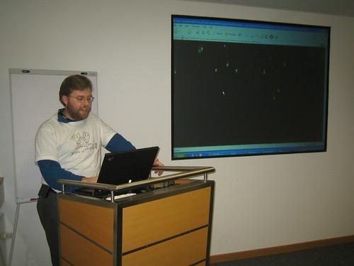 Thomas and his ABAP Matrix Screensaver