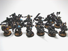 Warhammer 40k Chaos Space Marines photo by RuneFang