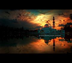 Floating Mosque II photo by Nasey