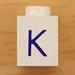 Vintage LEGO Letter K