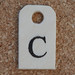 Wooden Tag C