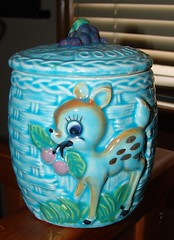 Blue Bambi Cookie Jar photo by Natalie B Robinson
