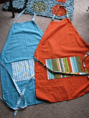 teatowel aprons from the Mother