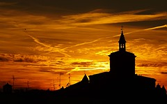 Burning sky -2- photo by ...aut in armis