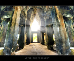 The Shine of Angkor Wat :: HDR photo by :: Artie | Photography ::