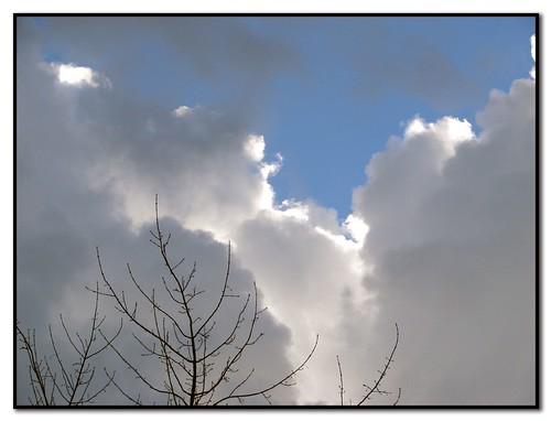 Hoje o céu não sabia se havia de brilhar ou não.... (by You)