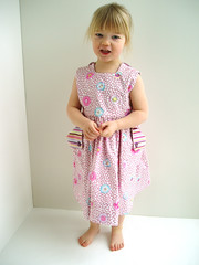 guinea flower sundress photo by littlegirlPearl