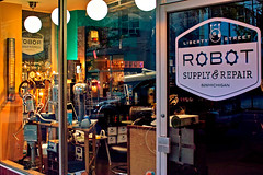 Liberty Street Robot Supply & Repair photo by gregory lee